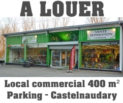 Local commercial à louer à Castelnaudary